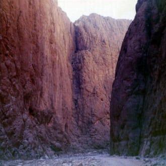 Quarzazate;  Ausflug zur Todraschlucht - Todra-Schlucht
