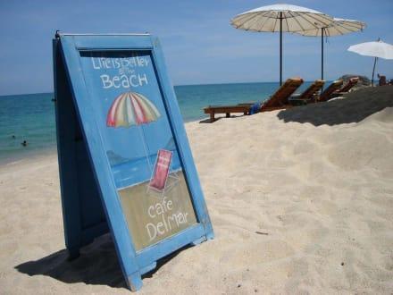Stranddetail - Strand Lamai Beach