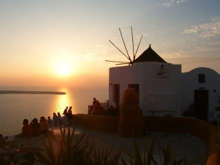 Sonnenuntergang - Windmühlen