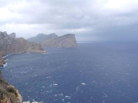 Ausblick vom Kap Formentor - Cap Formentor