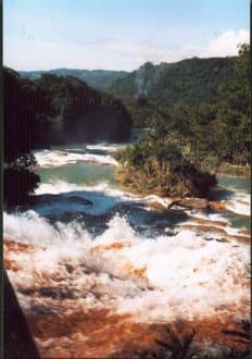 Wasserfälle von Agua Azul - Wasserfälle Aqua Azul