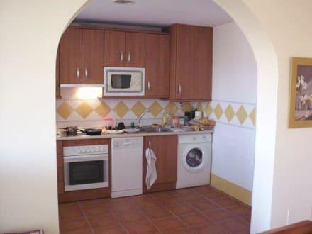 """Halboffene Küche"" Bild Royal Suites Marbella in Benahavis • Costa del Sol, Spanien"