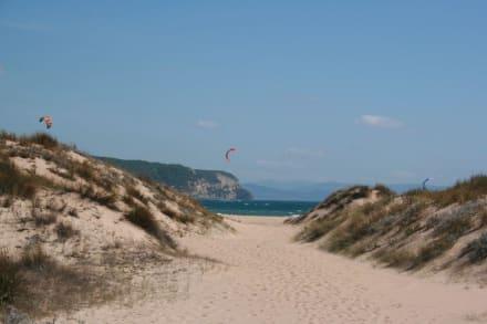 Kitesurfing am Cabo de Trafalgar - Cabo de Trafalgar