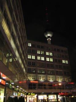 Der Fernsehturm - das höchste Bauwerk Berlins - Berliner Fernsehturm