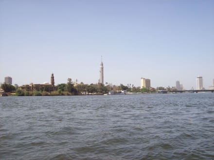 Blick in die Ferne - Bootstour auf dem Nil