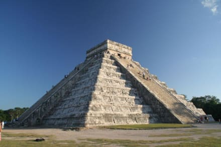 Kukulkan Pyramide in Chichen Itza - Ruine Chichén Itzá