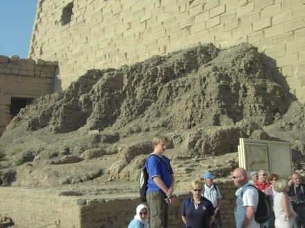 Auf die schliche gekommen - Amonstempel Karnak