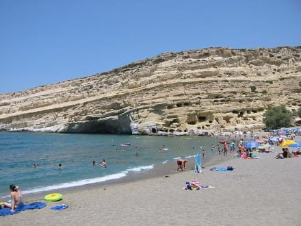 Matala - Strand Matala