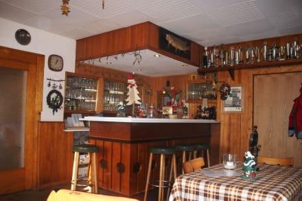 Die Bar, rechts steht normalerweise Ede! - Üdersdorfer Mühle