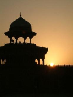 Sonnenaufgang beim Taj Mahal - Taj Mahal