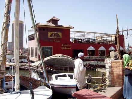 Unser Bootsführer und Reiseleiteri Rasha yehia - Bootstour auf dem Nil