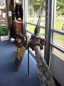 Propeller aus alten Jahren - Spitfire & Hurricane Memorial Museum
