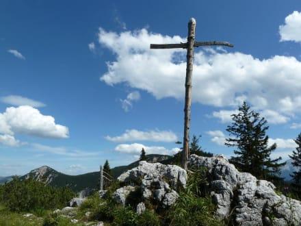 Gipfelkreuz - Predigtstuhl