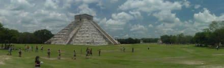 Touristenmagnet - Ruine Chichén Itzá