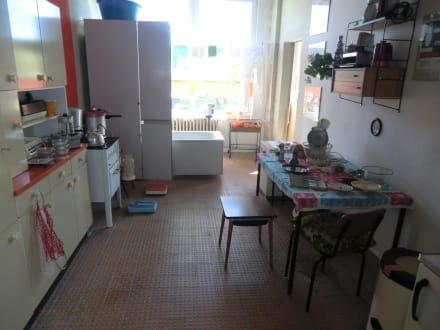 Küche mit Schrankbad - DDR Museum Thale