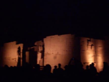 Innenhof - Amonstempel Karnak