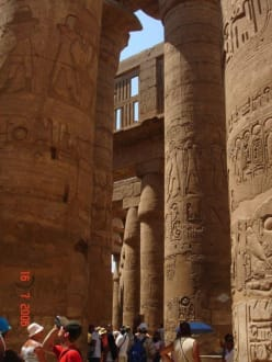 Säule im Karnak Tempel - Amonstempel Karnak