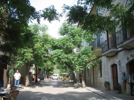 Straße in Valldemossa - Kartause von Valldemossa