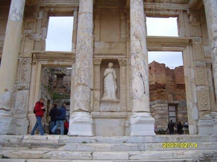 Detail von der Celsus Bibliothek! - Antikes Ephesus