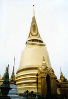 Chedi im Grand Palace - Wat Phra Keo und Königspalast / Grand Palace