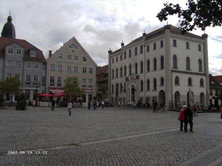 Blick vom Marktplatz - Altstadt Waren