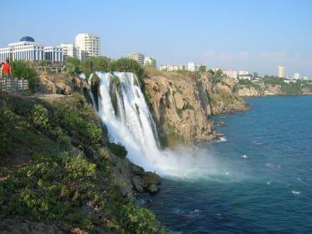 Süsswasserfall in Antalya - Unterer Düden Wasserfall / Karpuzkaldiran Şelalesi