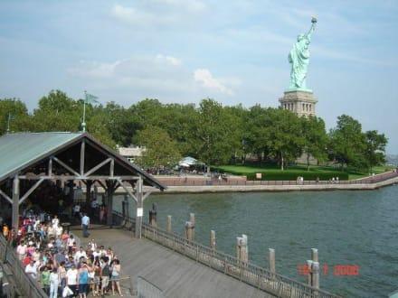 Liberty Island - Freiheitsstatue