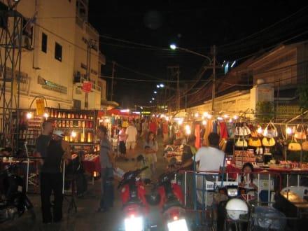Der Nachtmarkt von Hua Hin. - Nachtmarkt