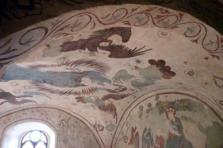 Deckenmalerei - Burg Kriebstein