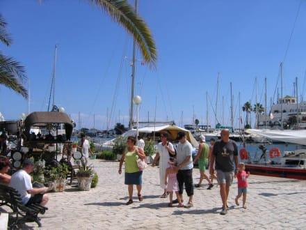 Hafen und Einkaufsstraße - Yachthafen Port el Kantaoui