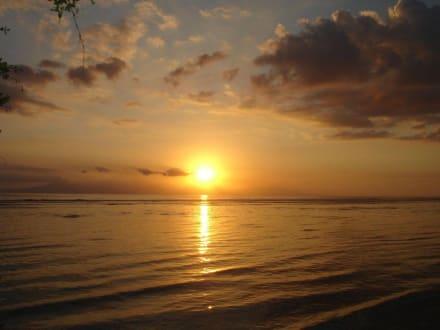 Da geht sie in Bali unter - Sunset Point