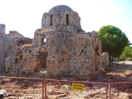 Altes Bauwerk. - Burg von Alanya  (Ic Kale)