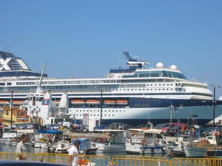Hafen in Rhodos Stadt - Hafen Rhodos