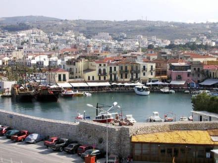 Der Hafen von Rethymnon - Hafen Rethymno