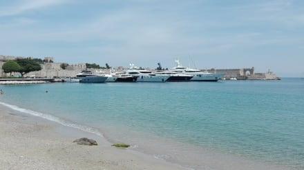 Rhodos- Hafen - Hafen Rhodos