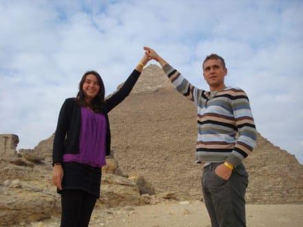 Kairo Ausflug, mit Eti - Pyramiden von Gizeh