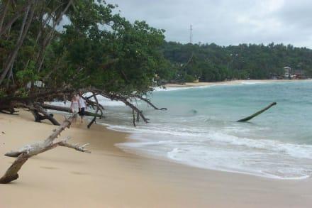 Strand in Unawatuna - Unawatuna Beach