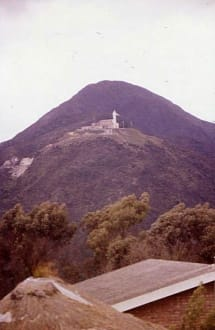 Die Christus-Statue - Berg Monserrate