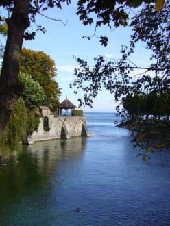 Bodensee (bei Steigenberger Inselhotel) - Hafen Konstanz