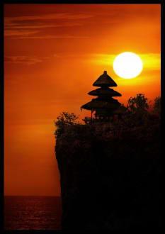 Bali Felsentempel Pura Luhur Ulu Watu - Uluwatu Tempel