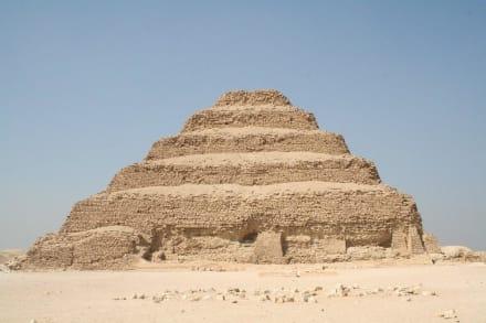Sakkara, Stufenpyramide König Djoser - Nekropole von Sakkara