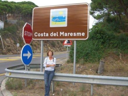 Schöner Urlaub gewesen - Strand Calella