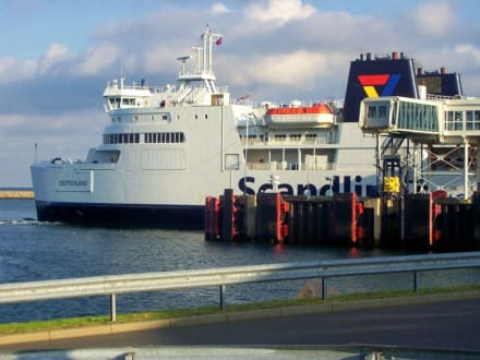 Im Hafen Puttgarden - Fährhafen Puttgarden