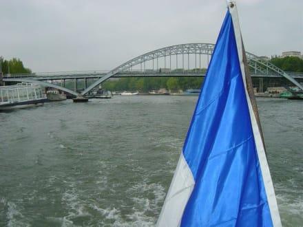 Seine Bootsfahrt - Bootstour Seine Paris