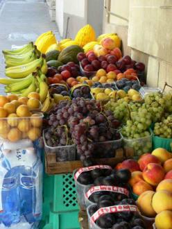 Das Obst schmeckt nach Sonne - Hafenrundfahrt Valletta