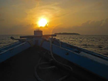 Embudu vor Sonnenuntergang - Hulhumalé
