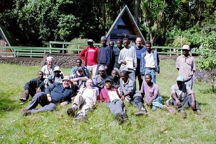 Marangu Gate - Kilimanjarobesteigung