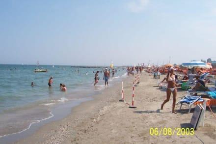Bagno flamingo beach in milano marittima holidaycheck for Bagno holiday milano marittima