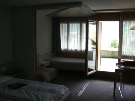 Hotelzimmeransicht - Hotel Eigerblick