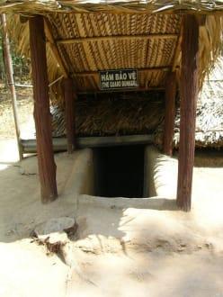 Eingang zu dem Tunnelsytem - Củ Chi Tunnel